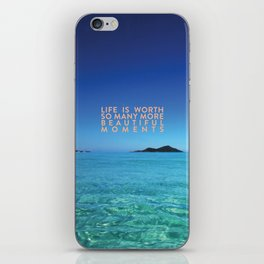 Beautiful Moments iPhone Skin