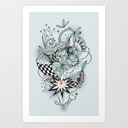 Soft summer Art Print
