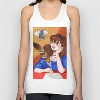 inspiration Tank Tops featuring Inspiration by Anna Gogoleva