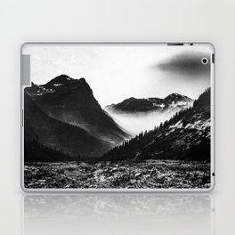 Mountain Valley Glacier National Park Laptop & iPad Skin