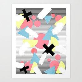 80's Theme Art Print