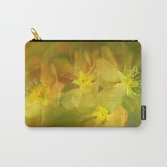 Early Morning Floral Abstract Carry-All Pouch