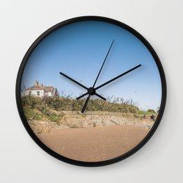 Sandy beach in Ireland Wall Clock