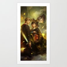BBC Merlin: Emrys Ascending  Art Print