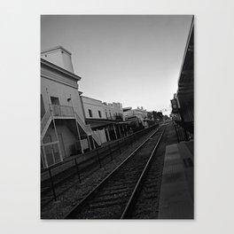 Crossing Canvas Print