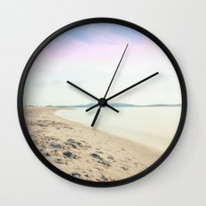 Sand, Sea and Sky - Relaxing Summertime Wall Clock