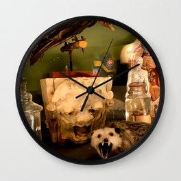 Curious Beasts Wall Clock