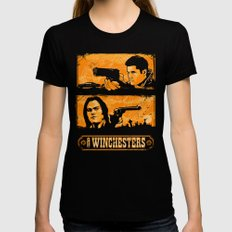 The Winchesters Womens Fitted Tee Black MEDIUM