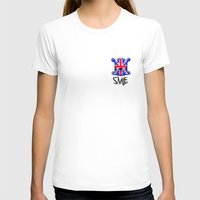 uk T-shirts featuring SMLE UK by SMLE™