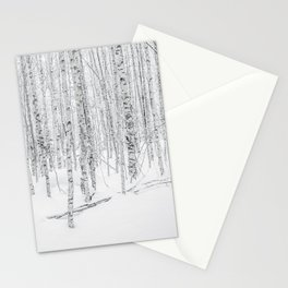 Swedish Birch Trees Stationery Cards