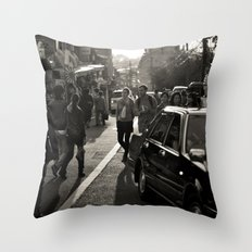 Streets of Kiyomizu Temple, Kyoto Throw Pillow