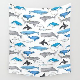 Whale Constellation Wall Tapestry