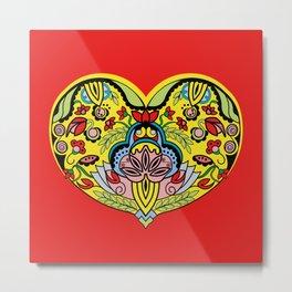 Enchanted Heart Valentine Metal Print