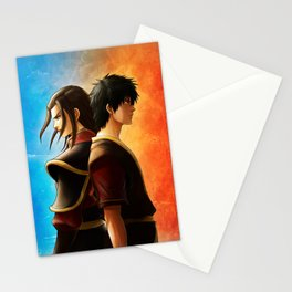 Azula and Zuko Stationery Cards