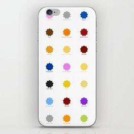 Praziquantel iPhone Skin