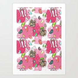 Jellybean Art Print