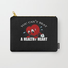 Heart Sport Health Healthy Sporty Fit Sport Carry-All Pouch