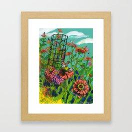 Monarch Migration Framed Art Print
