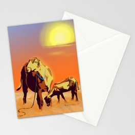 Barbados' Gold, Creatures of the Caribbean Stationery Cards