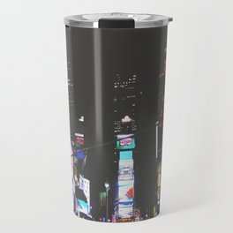 Evening Glow - Times Square Travel Mug