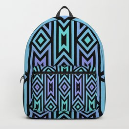 Lilac/Teal Tribal Backpack
