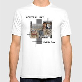 Coffee all day T-shirt