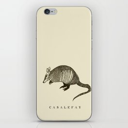 Armadillo power iPhone Skin