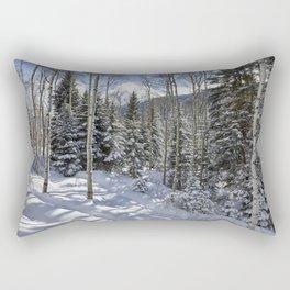 Winter forest - Carol Highsmith Rectangular Pillow