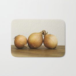 Onion trio Bath Mat