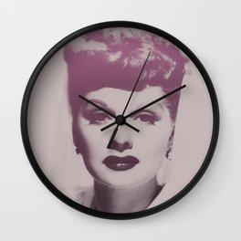 Lucille Ball Wall Clock