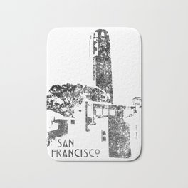 Coit Tower Bath Mat