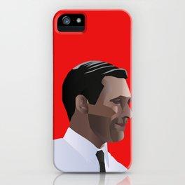 Mad Men star Don Draper iPhone Case
