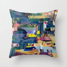 Kill The Wabbit (Provenance Series) Throw Pillow