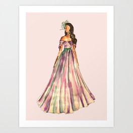 Belle Of The Ball (Pink Edition) Art Print
