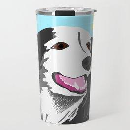 Happy Dog - Sophie the Border Collie Travel Mug