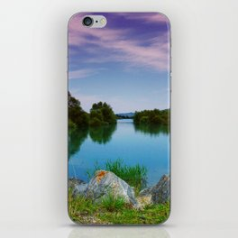 Lake in France iPhone Skin