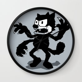 Cartoon Rejects Subject: Cat Wall Clock