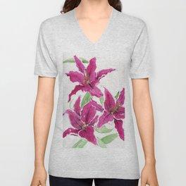 Sumatra Lilies Unisex V-Neck