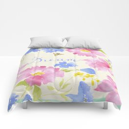 Garden Dream Pattern Comforters