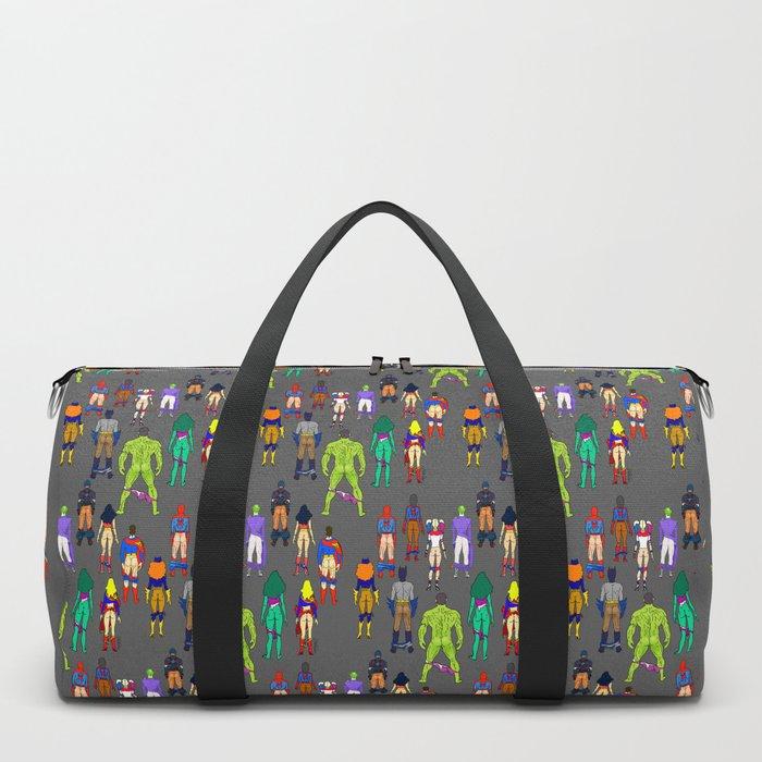Superhero Butts - Power Couple Duffle Bag