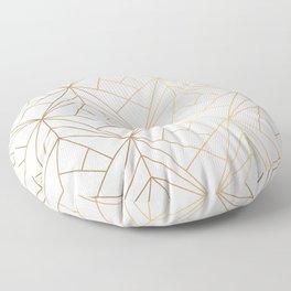Polygonal Pattern Floor Pillow