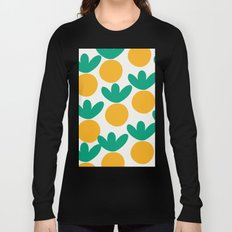 Minimalist Fruit Summer Pattern Long Sleeve T-shirt