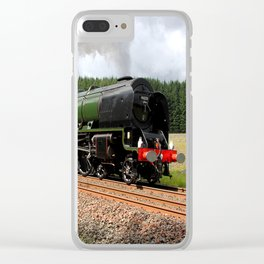 46233 Duchess of Sutherland Clear iPhone Case