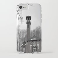 poland iPhone & iPod Cases featuring Poland Springs Museum by Catherine1970