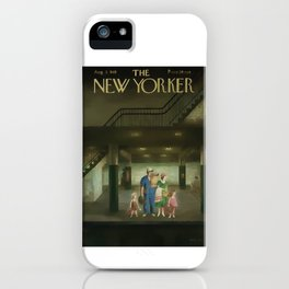 Vintage New Yorker Cover - Circa 1949 iPhone Case