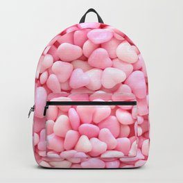Pink Candy Hearts Backpack