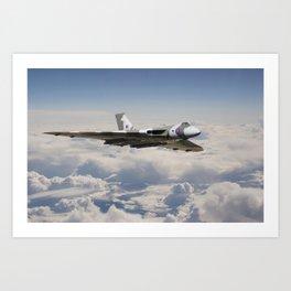 Vulcan - en route Art Print