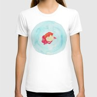 ponyo T-shirts featuring Ponyo Watercolor by foreverwars