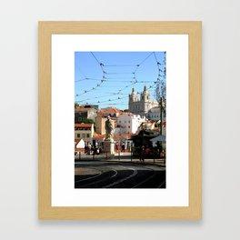 The Lisbon Hustle  Framed Art Print