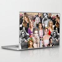 jennifer lawrence Laptop & iPad Skins featuring Jennifer Lawrence by lastminutebinge